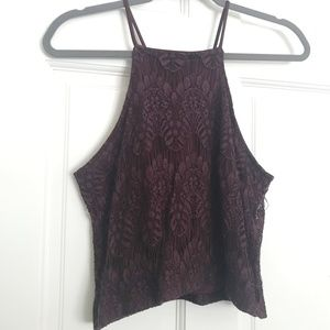 Kendall and Kylie maroon shirt